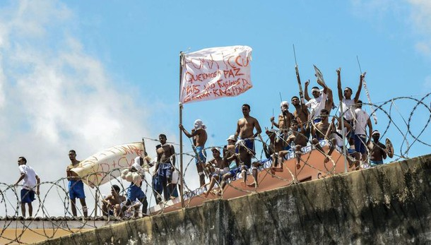 Brasile: carcere in rivolta dal 14/1
