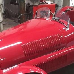 La Ferrari di Nuvolari  ricostruita a Colico  Un gioiellino per il film