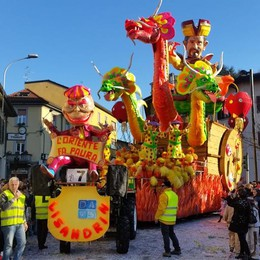 Carnevale, Cantù si allea  con Venezia e Viareggio