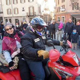 Cantù, la befana in moto  ha portato 300 regali
