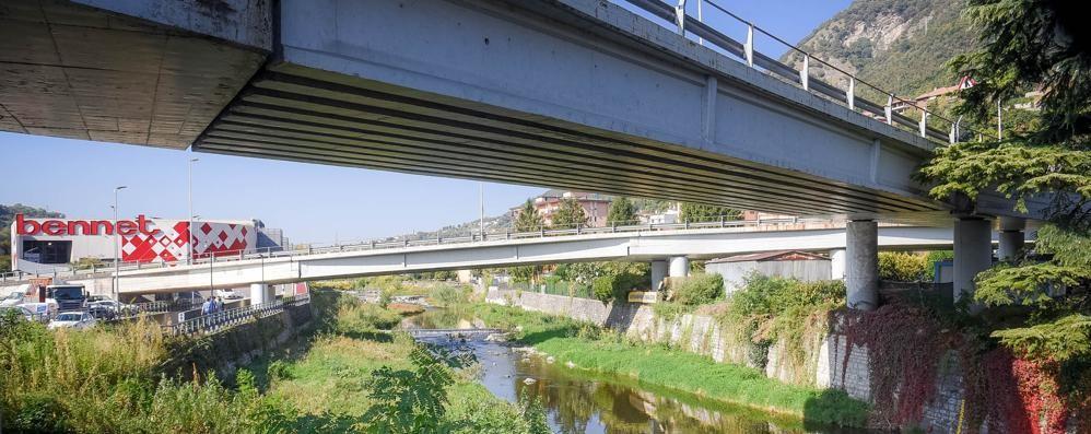 Cernobbio, controlli dopo l'allarme  L'Anas: «Nessun rischio sul ponte»