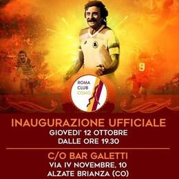 S'inaugura il Roma Club Como E torna a fare gol anche Pruzzo