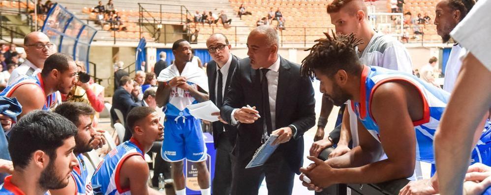 Sodini: «Dovremo essere attenti  Altrimenti Varese ci spazzerà via»