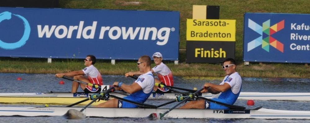 Doppio, Mondiale cardiopalma   Mondelli e Rambaldi di bronzo