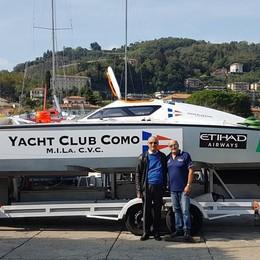 Ribaltone: il titolo va a Barlesi «Contento per lo Yacht Club Como»