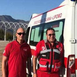 Lipomo, altra impresa della Cri  In Albania per un malato