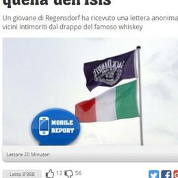 Bandiera pubblicitaria scambiata per simbolo Isis Succede in Svizzera