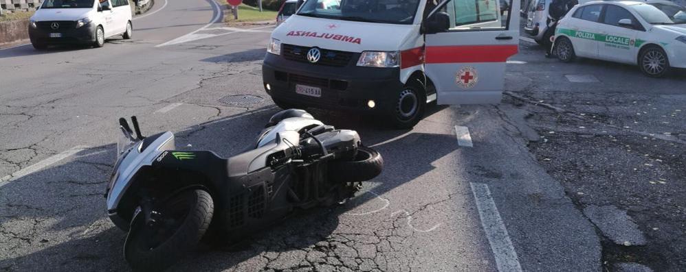 Incidente a Tavernola  Traffico rallentato
