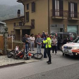 Valbrona, moto contro recinzione  Paura per ragazzo di 15 anni