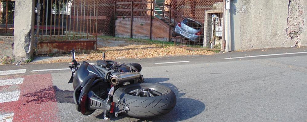 Incidente a Cantù Traffico paralizzato