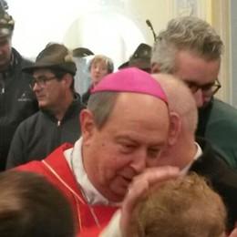 Che festa a Solbiate  per il vescovo Oscar