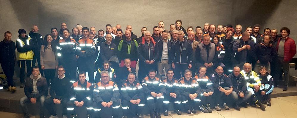 Tavernerio, cena per ringraziare  i volontari antincendio