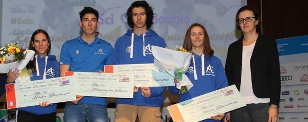 Festa del Comitato Alpi Centrali Passerella per i giovani comaschi