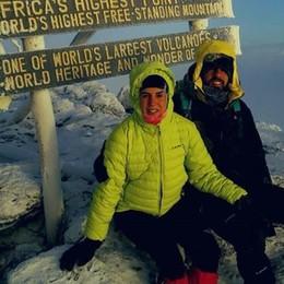 Da Capiago al Kilimanjaro  L'impresa di un'ostetrica