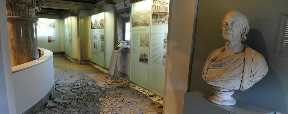 Tempio Voltiano, ci sono i soldi  Partono i restauri