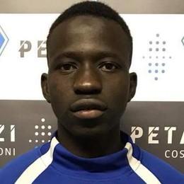 La favola di Kanè, scappato dal Mali  Da profugo a calciatore del Menaggio