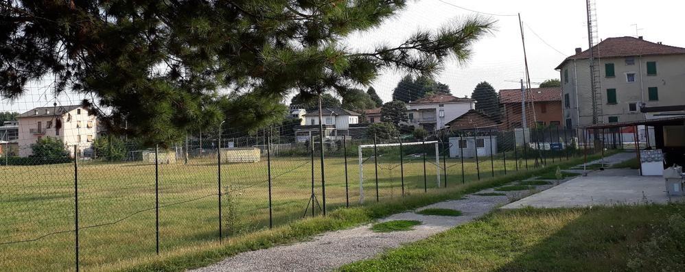 Cantù, via Milano: nuovo centro sportivo  Campi, tribune, bar e 36 parcheggi