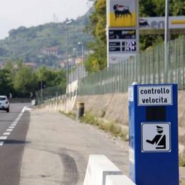 """Autovelox a singhiozzo, controlli """"roulette"""" lungo la statale 36"""