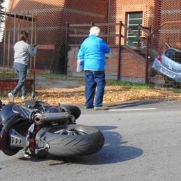 Cantù, le strade sono un pericolo  Boom di incidenti in centro città