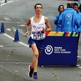 Riecco Puppi, l'eroe di New York «Ce l'ho fatta, sono un maratoneta»