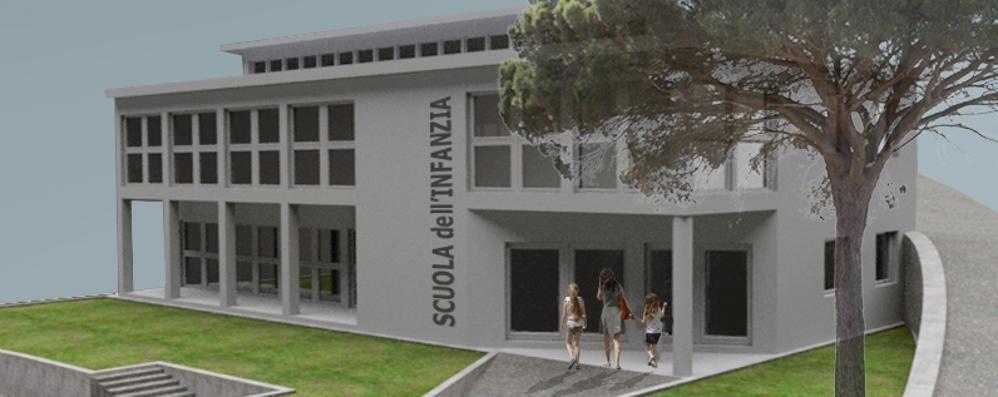 L'asilo di Cavallasca diventa più grande  Dal Comune pronto un milione di euro