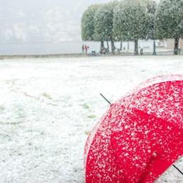 È arrivata la prima neve  Cantieri, tutto rinviato