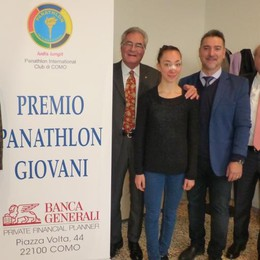Premio Panathlon giovani  Alessia Giordano, sedici anni