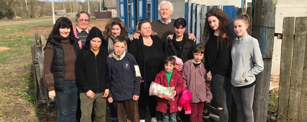 Ex parroco e Comitato Cernobyl  I nuovi benemeriti marianesi