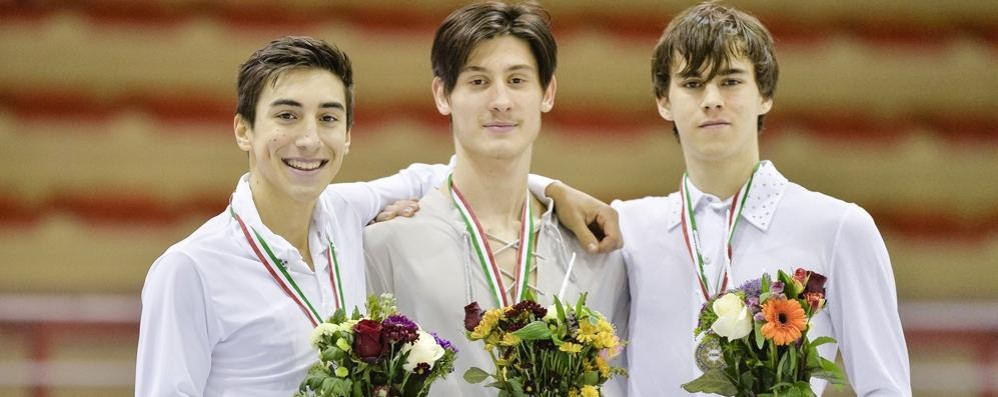 Folini campione italiano junior  L'incoronazione all'Agorà