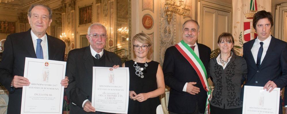 Olga Ceriani, Angelo Palma e Per Como Pulita: consegnati gli Abbondini