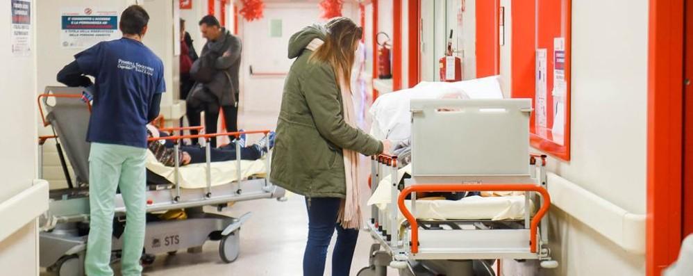 Como, lungo ponte   senza medici di base  Il Pronto soccorso si prepara