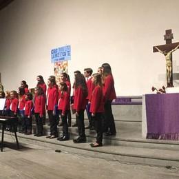 Musiche di Natale  Folla per il concerto   a Sant'Agata