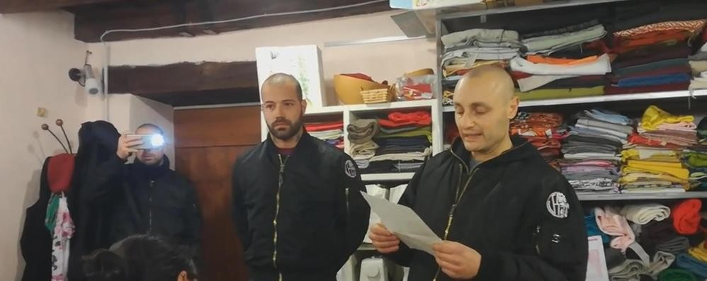 Pisa, i naziskin comaschi nel presepe-denuncia di un parroco