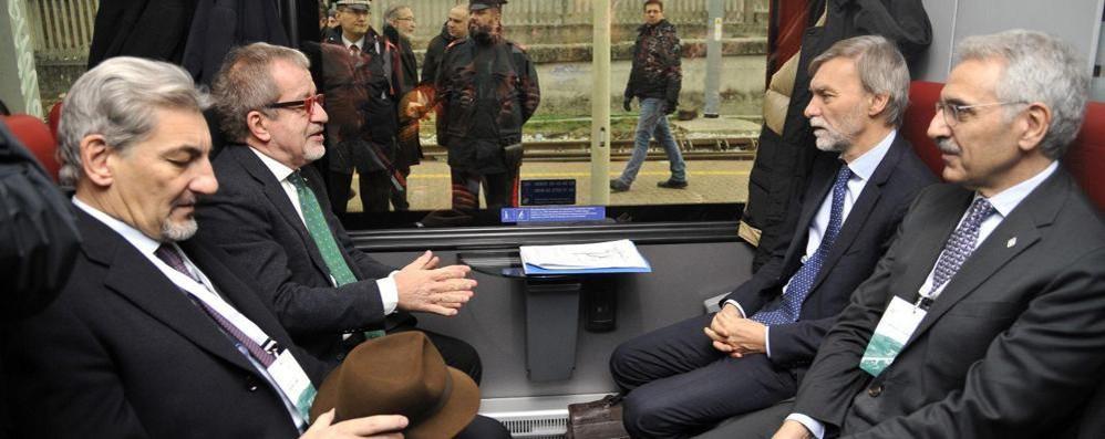 Inaugurata la Arcisate-Stabio  Da Como a Varese in treno in 41 minuti