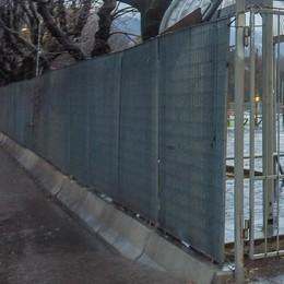 Como, passeggiata a lago  «Entro fine gennaio via le barriere»
