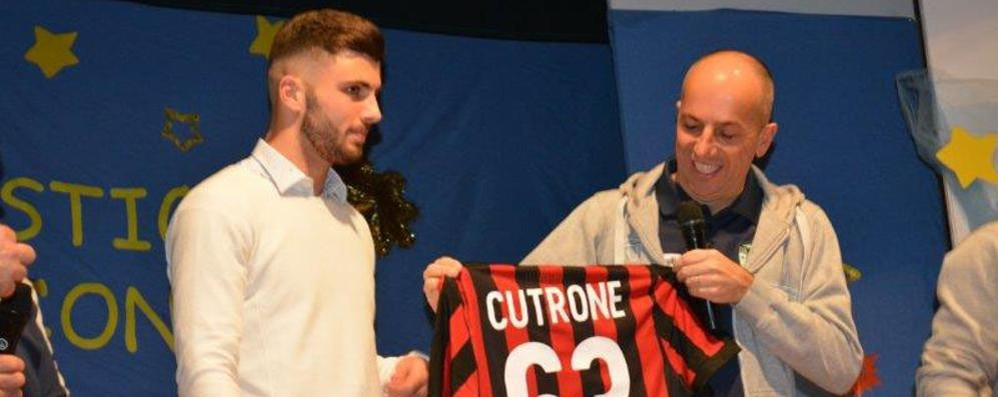 Cutrone uomo derby  E bomber del Milan