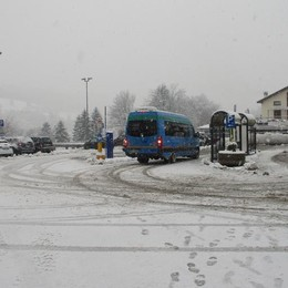 Neve in Valle Intelvi  Caduti 40 centimetri