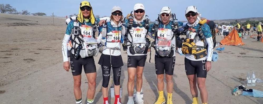 Marathon Des Sables? Fatta Tutti al traguardo i 5 comaschi