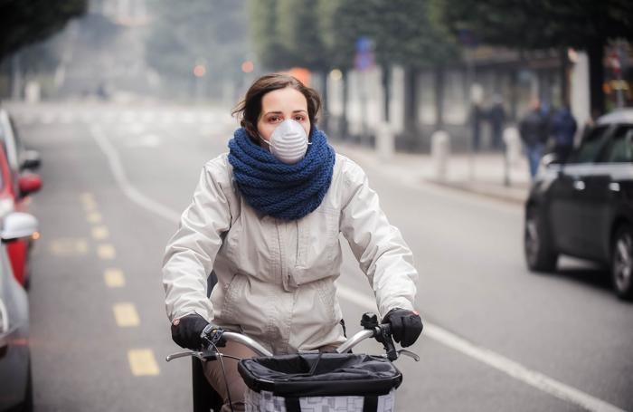 Como livello di polveri sottili alto, inquinamento, pm 10, smog