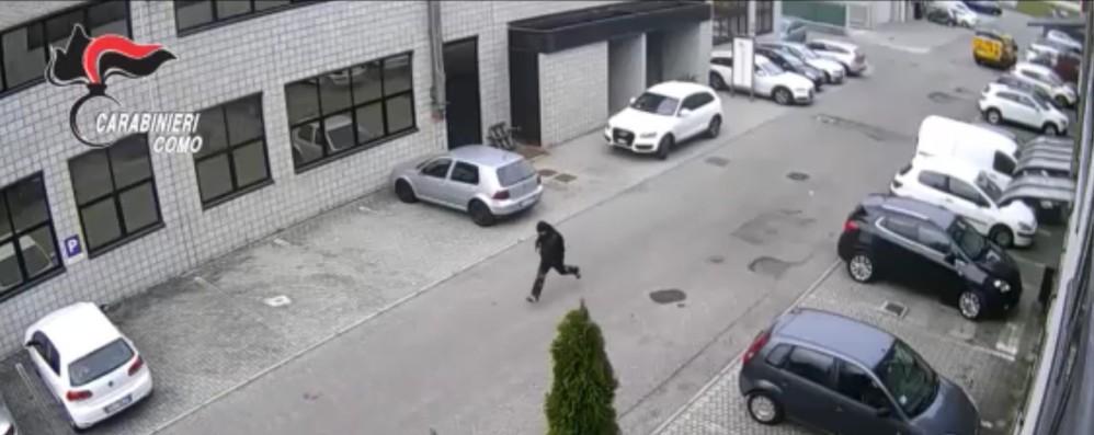 Rapine a Lurate e Novedrate  Sei arresti dei carabinieri   Video dei banditi in fuga