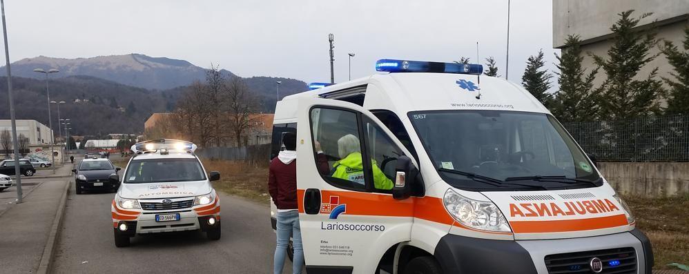 Scontro tra motociclisti  Due feriti ad Albavilla