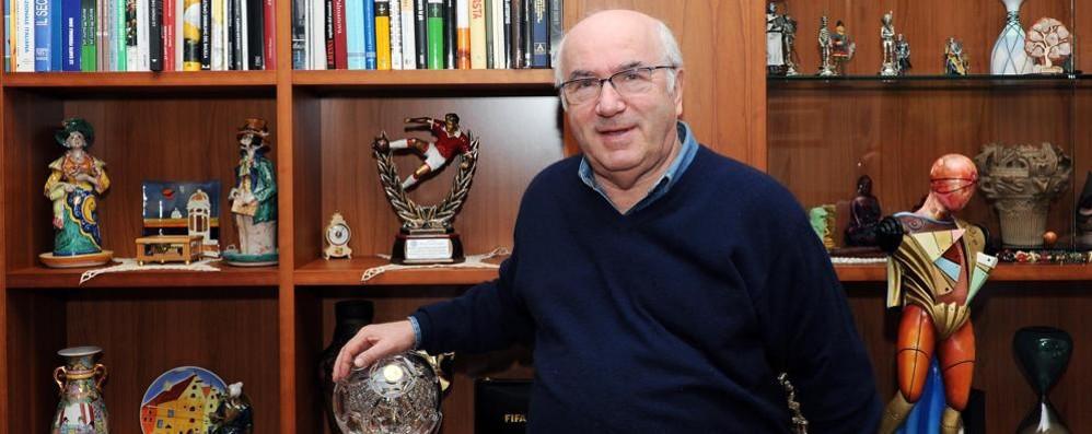 Il presidente della Federcalcio  ricoverato all'ospedale di Erba
