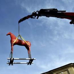 Il Cavallo di Paladino a Mole di Ancona
