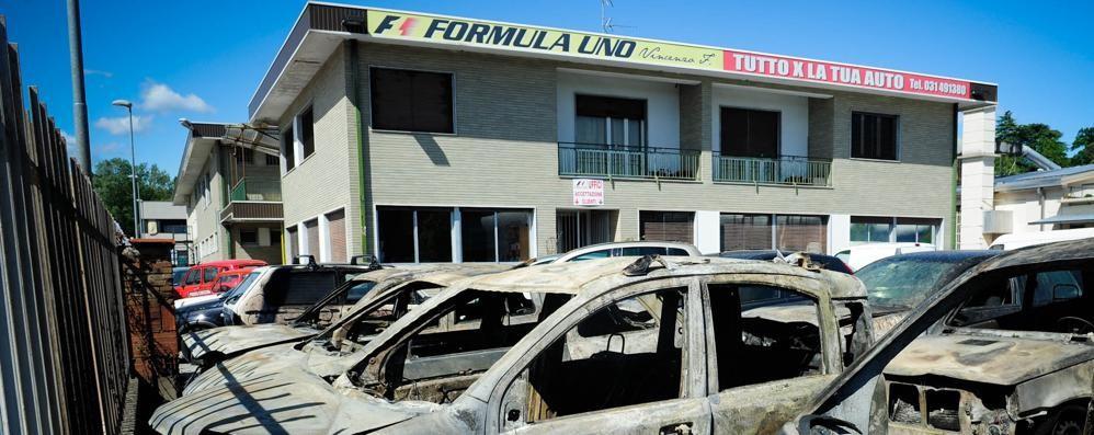 Villa Guardia: rogo Formula Uno  Chiesti 19 anni di cella