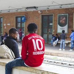 Migrante folgorato sul  treno,   c'è un testimone
