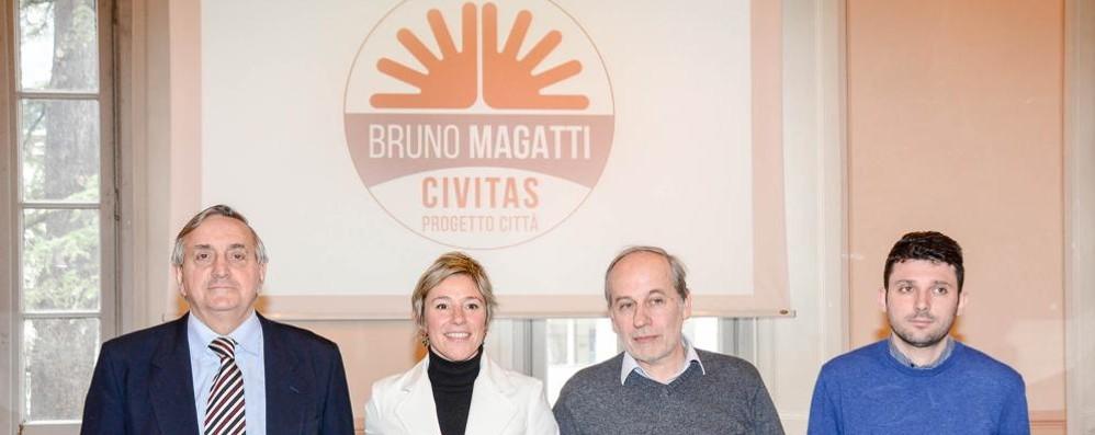 """Magatti, sfida al Pd con """"Civitas""""  «Una città autorevole e autonoma»"""