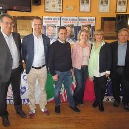 Erba, Airoldi candidato sindaco   Guarda il video dell'annuncio
