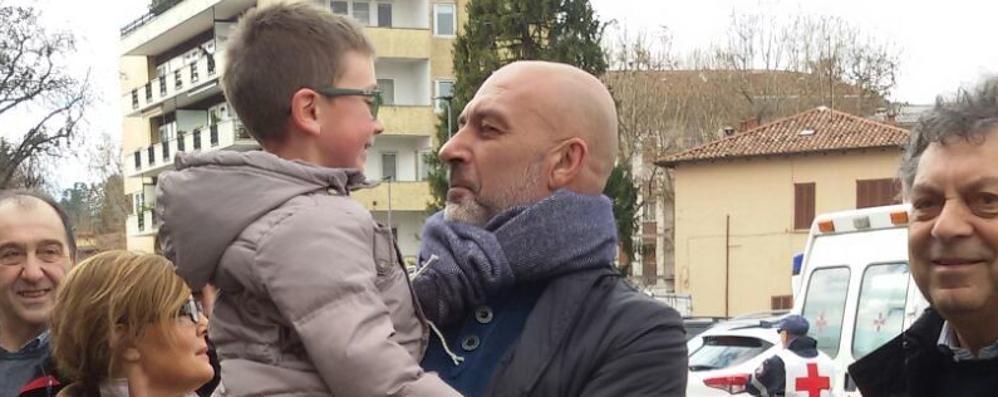 Andrea, sei anni rinuncia ai regali   Soldi per i bambini di Amatrice