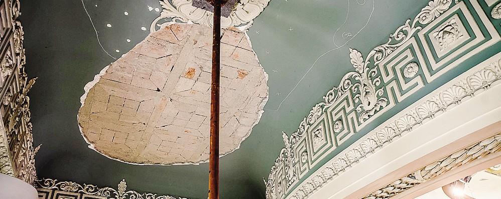 Volta, ricorrenza triste  Acqua dal tetto del Tempio  e sfregio a Libeskind