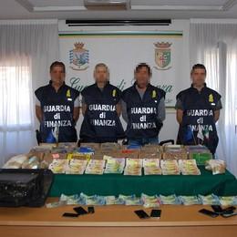 Inverigo, sequestrati 32 chili di cocaina  Scattano le manette per due fratelli   GUARDA IL VIDEO